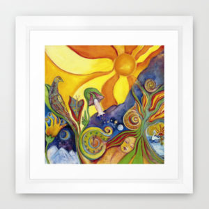 The Dream Framed Print