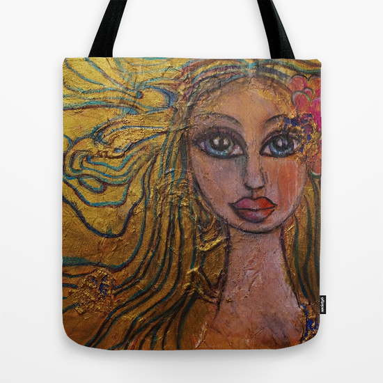 Golden Dawn Tote Bag